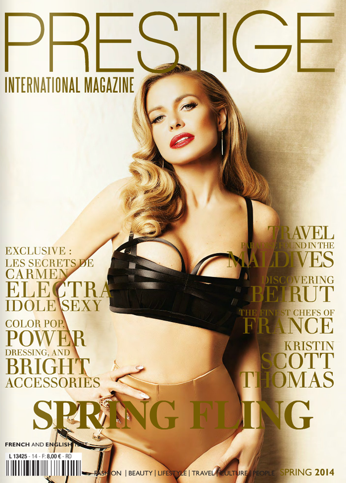 Translation of the magazine Prestige International