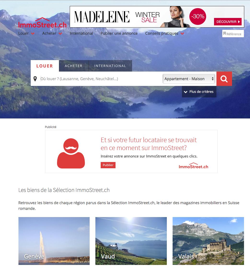 Translation of the seloger website