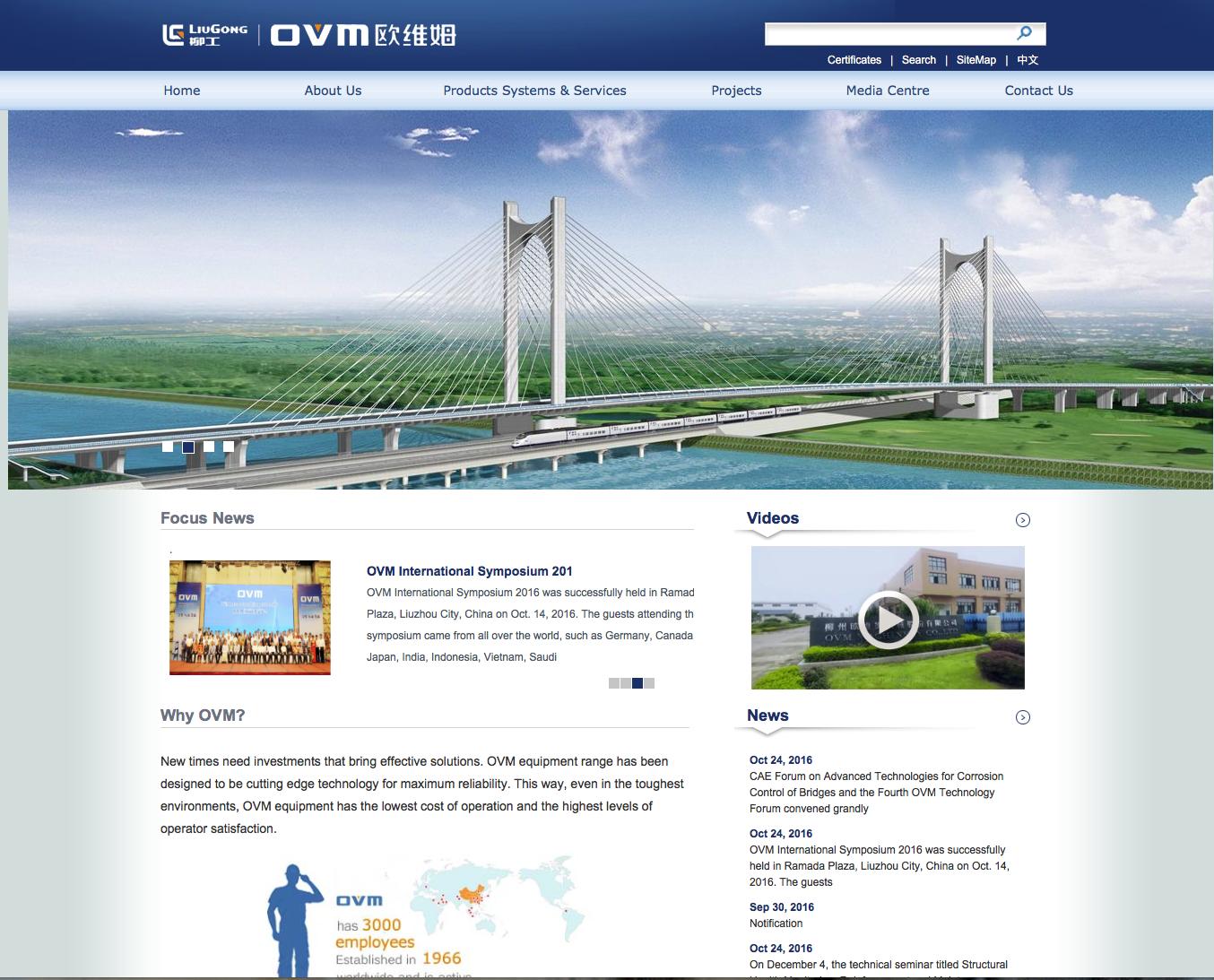 Proofreading a translation for OVM International
