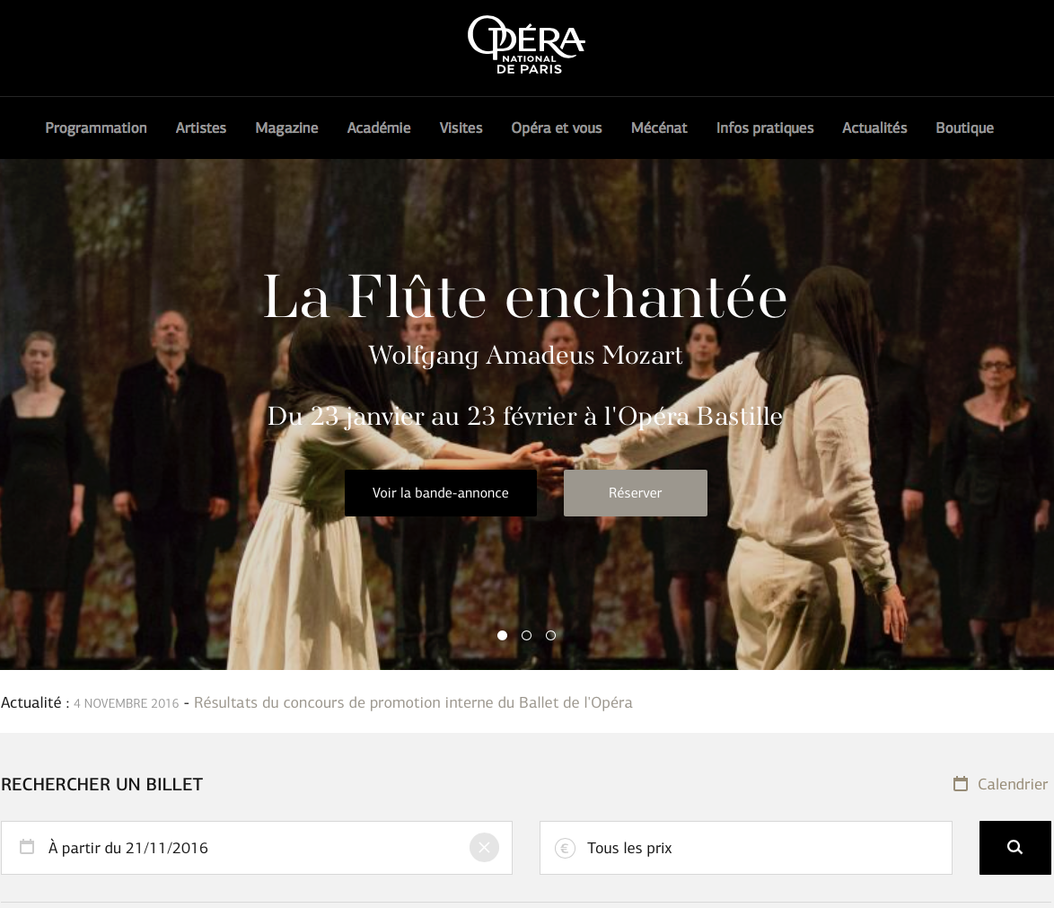 Legal translation for the Opéra National de Paris