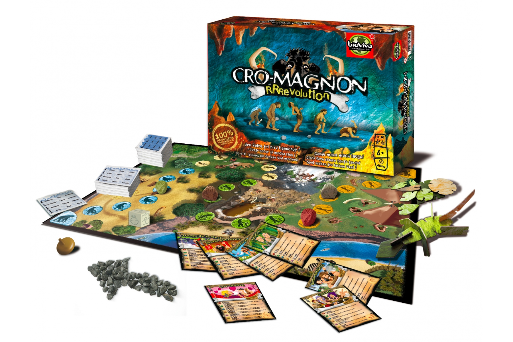 Localisation of the board game Cro-magnon""""