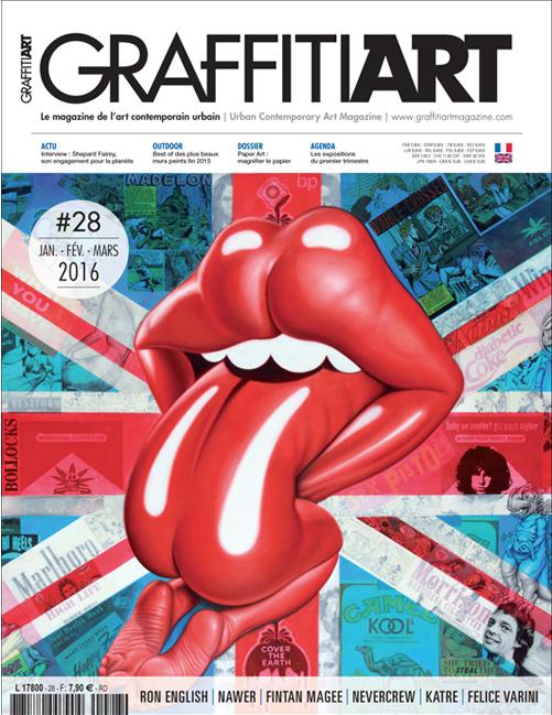 Translation of the magazine Graffiti Art