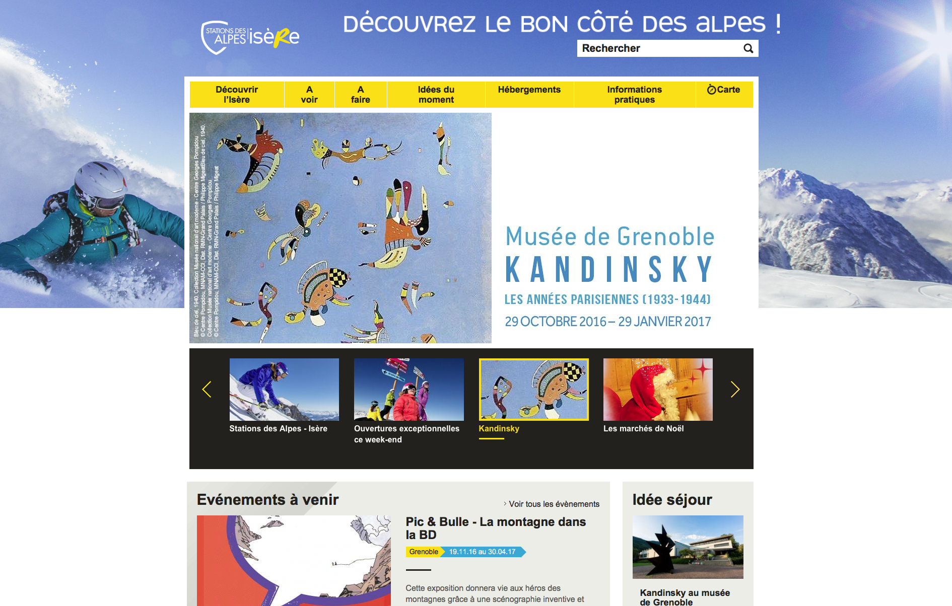 Tourism translation for the Isère Departmental Tourism Committee (CDT)