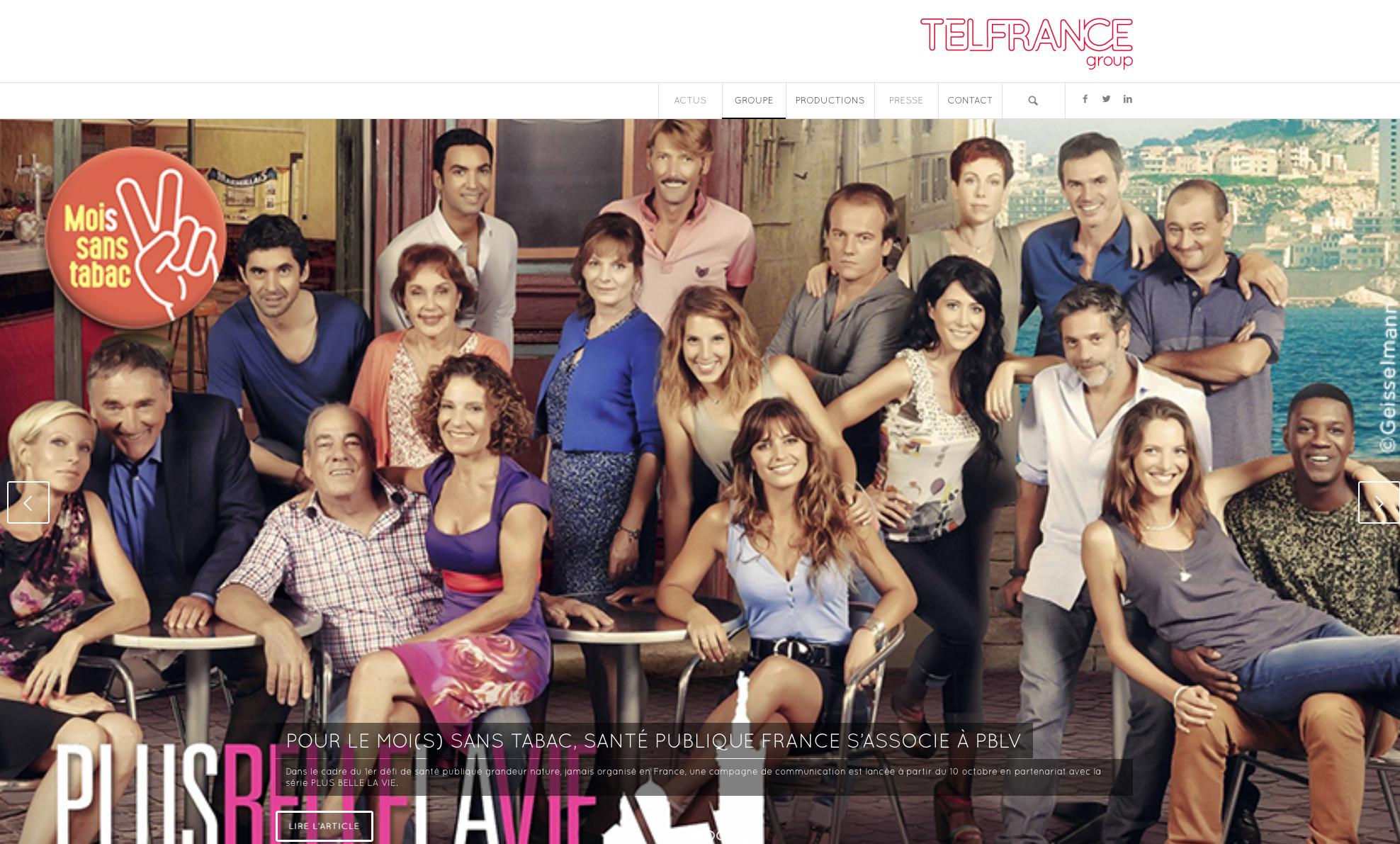 French English translation for Telfrance