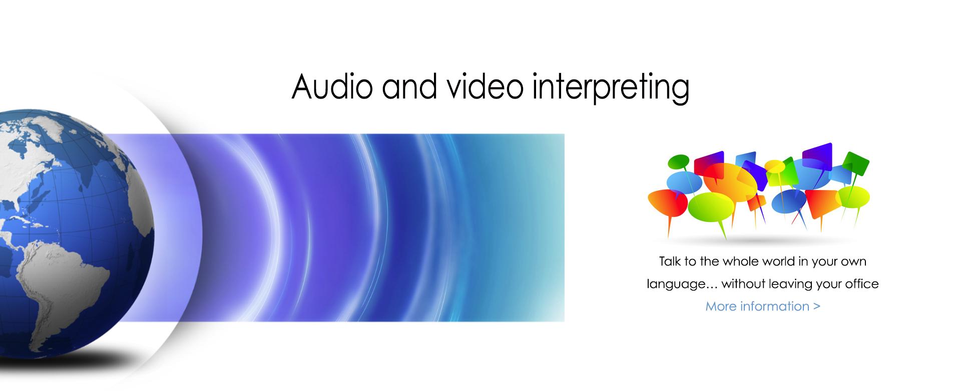 audio-video-interpreting