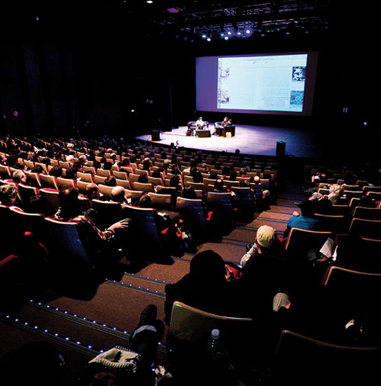 Successful performance at the 45th Angoulême International Comics Festival